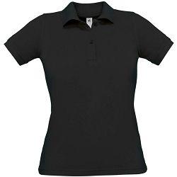 Polo majice B&C, Safran Pure , women, black
