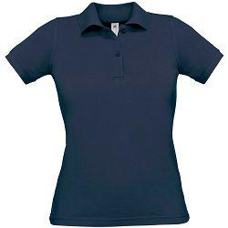 Polo majice B&C, Safran Pure , women, navy