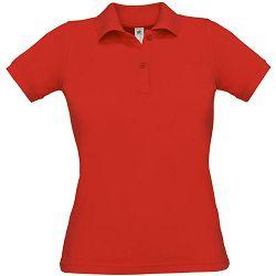 Polo majice B&C, Safran Pure , women, red