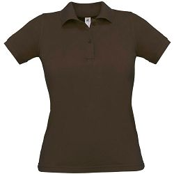 Polo majice B&C, Safran Pure , women, brown