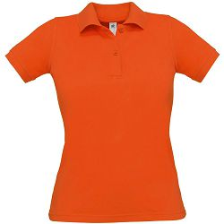 Polo majice B&C, Safran Pure , women, pumpkin orange