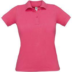 Polo majice B&C, Safran Pure , women, fuchsia