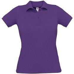 Polo majice B&C, Safran Pure , women, purple