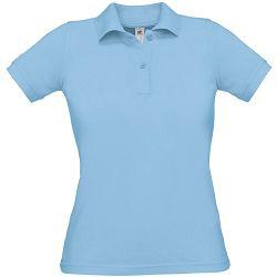 Polo majice B&C, Safran Pure , women, sky blue