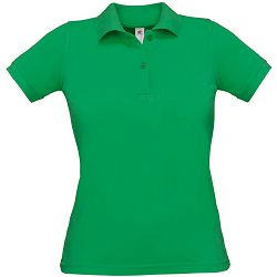 Polo majice B&C, Safran Pure , women, kelly green