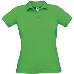 Polo majice B&C, Safran Pure , women, real green