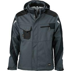 Radna jakna James & Nicholson, JN 824, carbon-black