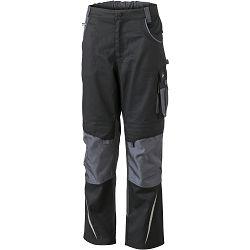 Radne hlače James & Nicholson, JN 832, black-carbon