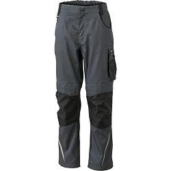 Radne hlače James & Nicholson, JN 832, carbon-black