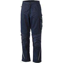 Radne hlače James & Nicholson, JN 832, navy-navy