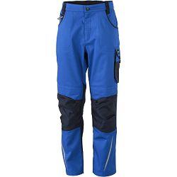 Radne hlače James & Nicholson, JN 832, royal-navy