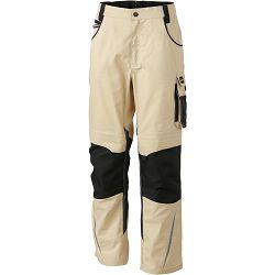 Radne hlače James & Nicholson, JN 832, stone-black